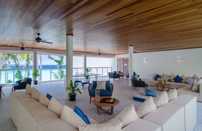 Indoors of Amilla Maldives Beachfront Residence