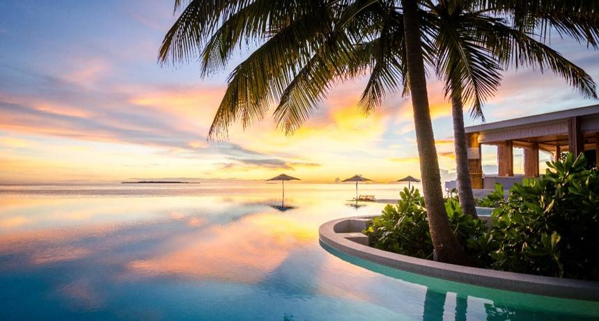 Enjoy Sunset Views From Your Amilla Maldives Residence