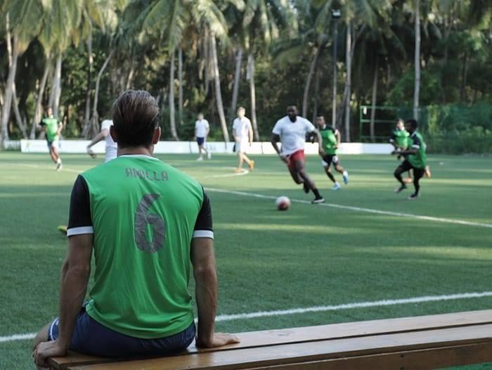 Soccer at Amilla